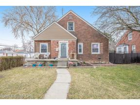 Property for sale at 1603 MICHIGAN BLVD, Lincoln Park,  Michigan 48146