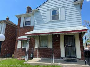 Property for sale at 18439 HARTWELL ST, Detroit,  Michigan 48235