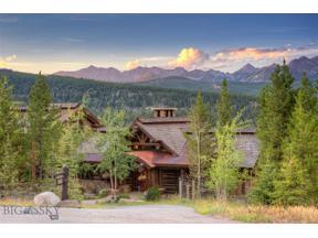 Property for sale at 165 Wildridge Fork, Big Sky,  Montana 59716
