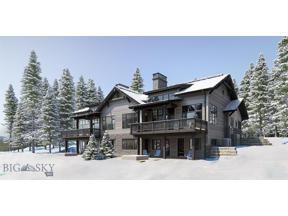 Property for sale at 277 Inspiration Point Spurs 13-A, Big Sky,  Montana 59716
