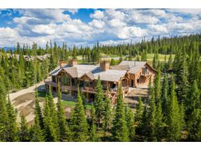 Property for sale at 43 Mountain Valley Trail, Big Sky,  Montana 59716