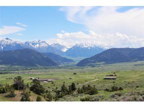 Property for sale at TBD Soaring Eagle Drive, Livingston,  Montana 59047