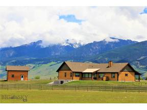 Property for sale at 1 Sheepeater Trail, Livingston,  Montana 59047