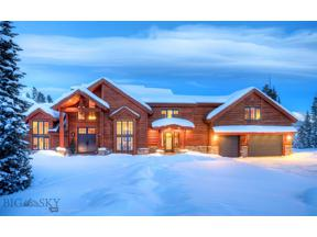 Property for sale at 47 Saddle Horn, Big Sky,  Montana 59716