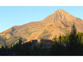 Property for sale at 0 Beehive Basin Road, Big Sky,  Montana 59716