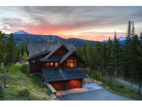 Property for sale at 160 Sweetroot Fork Circle, Big Sky,  Montana 59716