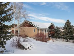 Property for sale at 248 Painted Hills Road, Bozeman,  Montana 59715