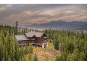Property for sale at 40 Saddle Horn Road, Big Sky,  Montana 59716
