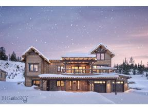 Property for sale at 496 Outlook Trail, Big Sky,  Montana 59716