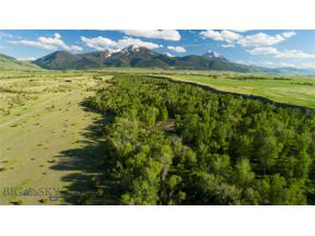 Property for sale at TBD Mill Creek Road, Livingston,  Montana 59047