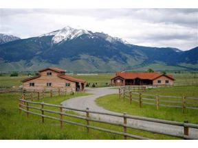 Property for sale at 98 Morgan Trail, Pray,  Montana 59047