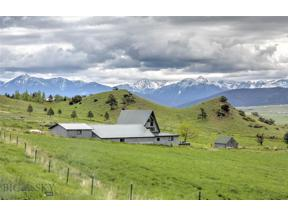 Property for sale at 69 O'Rea Creek Road, Livingston,  Montana 59047