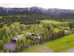 Property for sale at 13345 Bridger Canyon, Bozeman,  Montana 59715