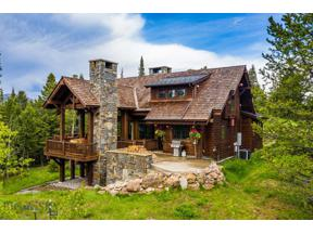 Property for sale at 160 Sweetroot Fork, Big Sky,  Montana 59716