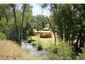 Property for sale at 400 Jack Creek, Ennis,  Montana 59729
