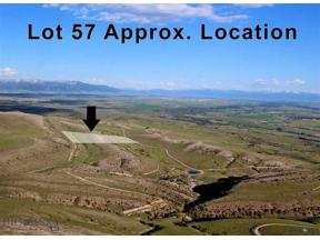 Property for sale at Lot 57 Horseshoe Gulch Road, Manhattan,  Montana 59741