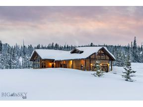 Property for sale at 8 Little Thunder Road, Big Sky,  Montana 59716