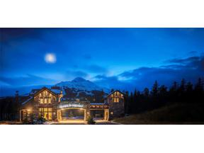 Property for sale at 3A Big View Dr. Drive, Big Sky,  Montana 59716
