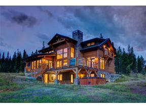 Property for sale at 137 Wildridge Fork, Big Sky,  Montana 59716
