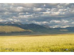 Property for sale at Lot 76 Pronghorn Meadows, Ennis,  Montana 59729