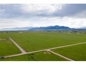 Property for sale at TBD Cottonwood and Blackwood Rd, Bozeman,  Montana 59718