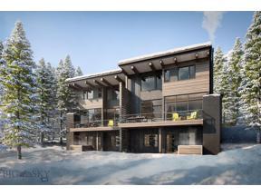 Property for sale at 4B Treeline Springs Road, Big Sky,  Montana 59716