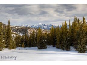 Property for sale at TBD Lower Promontory Road, Big Sky,  Montana 59716