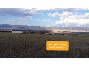 Property for sale at 116 Two  Bumps Road, Ennis,  Montana 59729