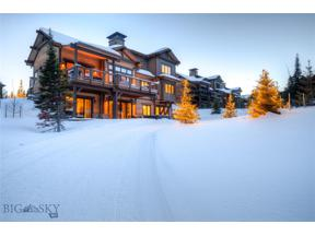 Property for sale at 113 S South Outlook Loop, Big Sky,  Montana 59716