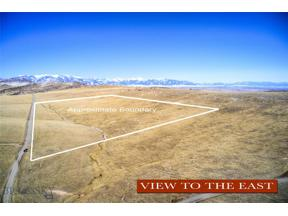 Property for sale at Lot 171 TBD Horse Thief Trail, Manhattan,  Montana 59741