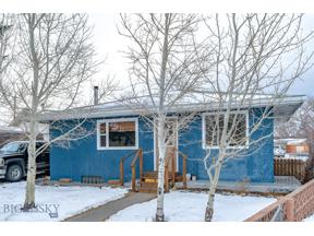 Property for sale at 409 S 14th Street, Livingston,  Montana 59047