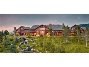 Property for sale at 350 Greenhills Ranch Road, Bozeman,  Montana 59718