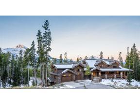 Property for sale at 80 Timber Ridge Road, Big Sky,  Montana 59716