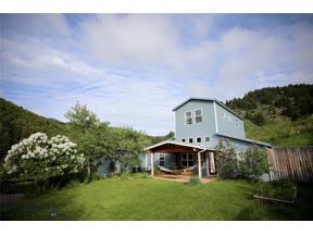 Property for sale at 478 O Rea Creek, Livingston,  Montana 59047