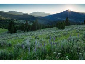 Property for sale at TBD Mountain Meadows Lane, Big Sky,  Montana 59716