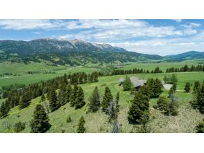 Property for sale at 2110 Three Bears Road, Bozeman,  Montana 59715