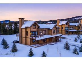 Property for sale at 436 Outlook Trail, Big Sky,  Montana 59716