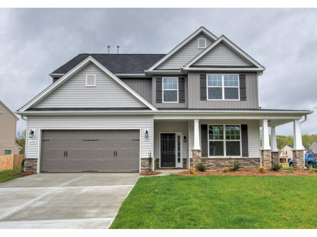 Photo of home for sale at 2456 Sunfield Drive, Graham NC