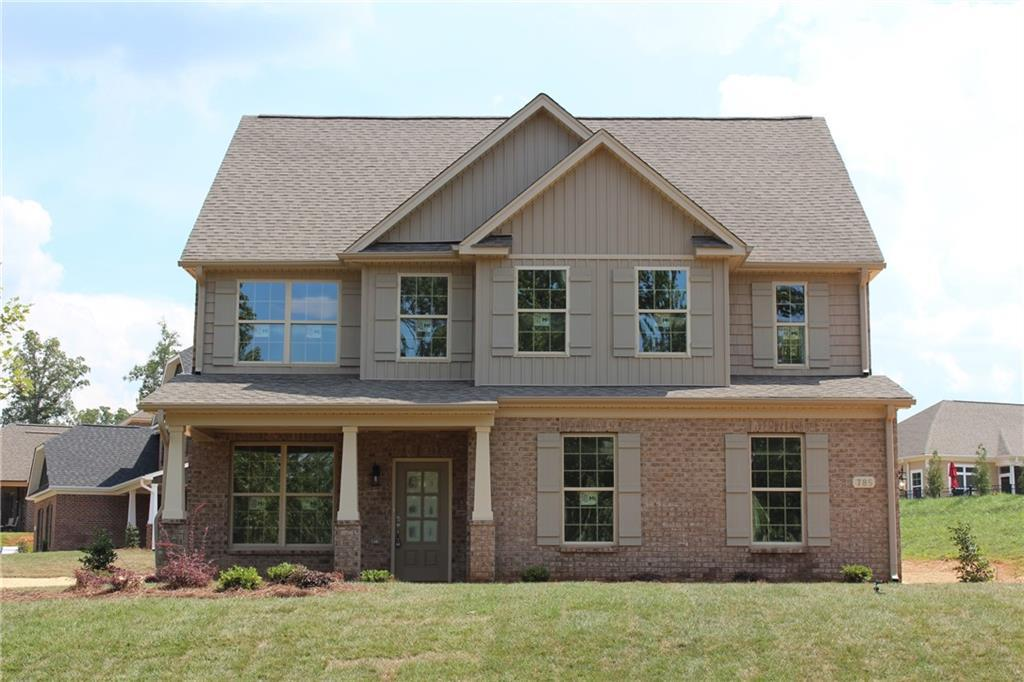 Photo of home for sale at 785 Ashley Woods Drive, Elon NC