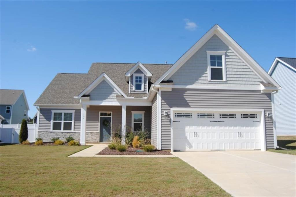 Photo of home for sale at 104 Hickock Court, Mebane NC