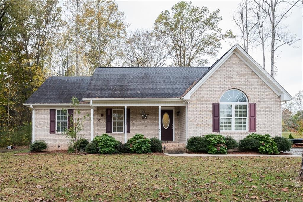 Photo of home for sale at 5411 Jaeger Drive, Graham NC