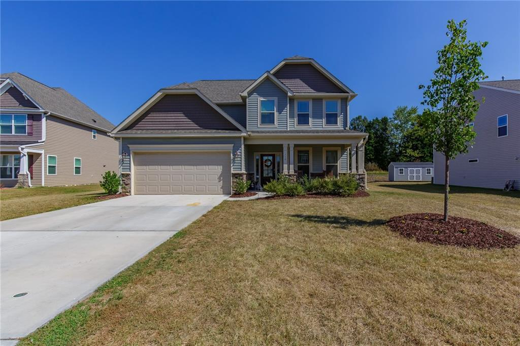 Photo of home for sale at 116 Boling Springs Court, Whitsett NC