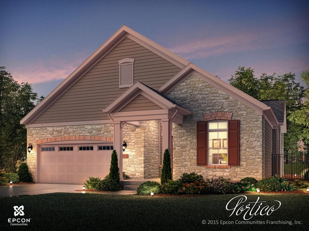 Photo of home for sale at 667 Ashley Woods  Dr Lot 107, Gibsonville NC