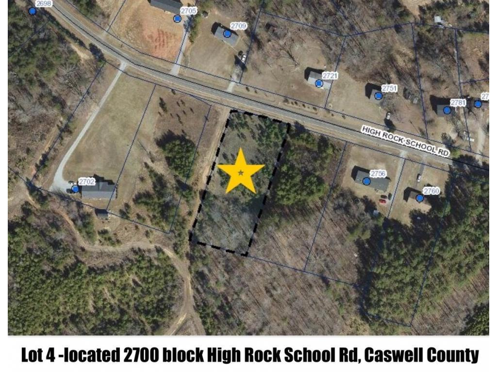 Photo of home for sale at 0 High Rock School Road, Blanch NC