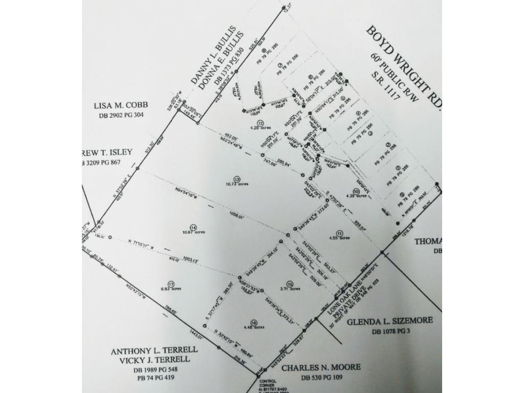 Photo of home for sale at 2030 Lone Oak Lane, Burlington NC