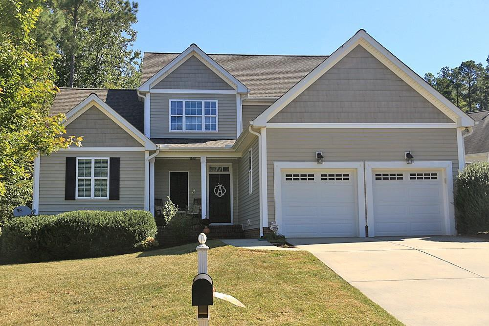 Photo of home for sale at 1037 Longleaf Pine Place, Mebane NC