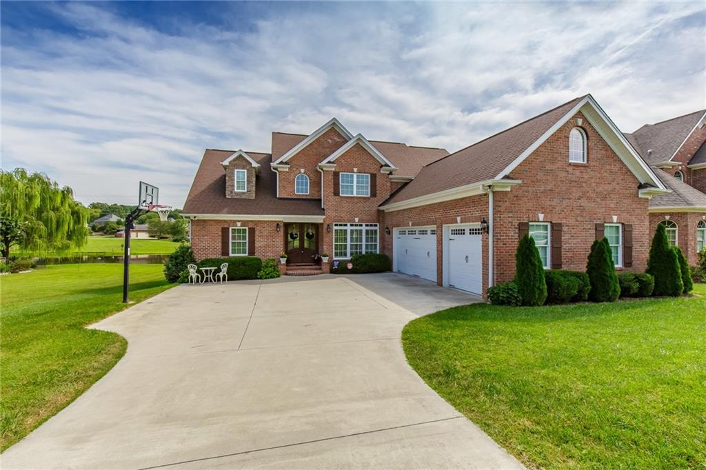 Photo of home for sale at 5009 Windsor Court, Elon NC