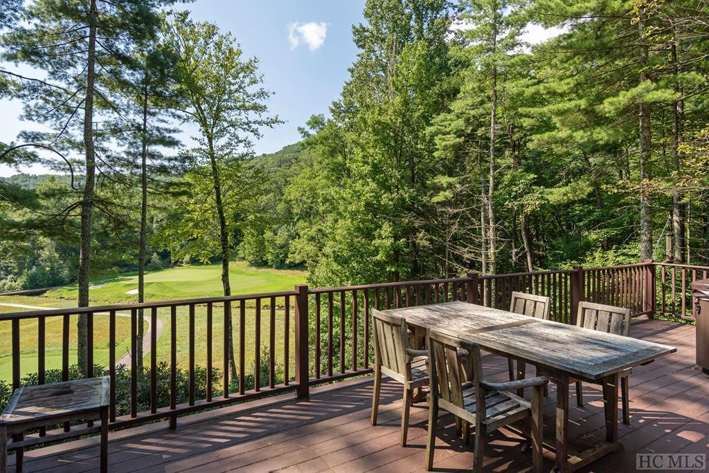 Photo of home for sale at 1004 Fairway Drive, Lake Toxaway NC