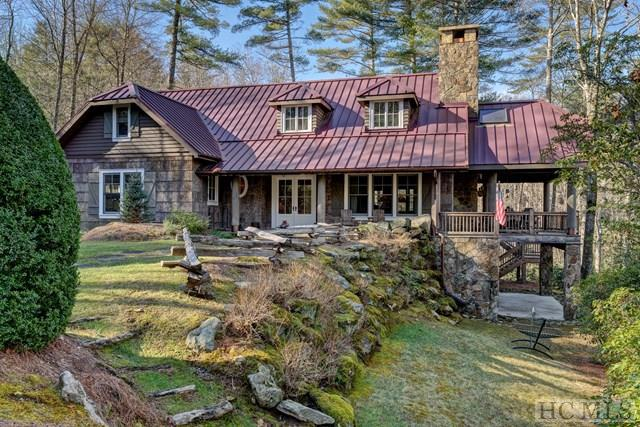 Photo of home for sale at 173 Gorge Trail Road, Cashiers NC