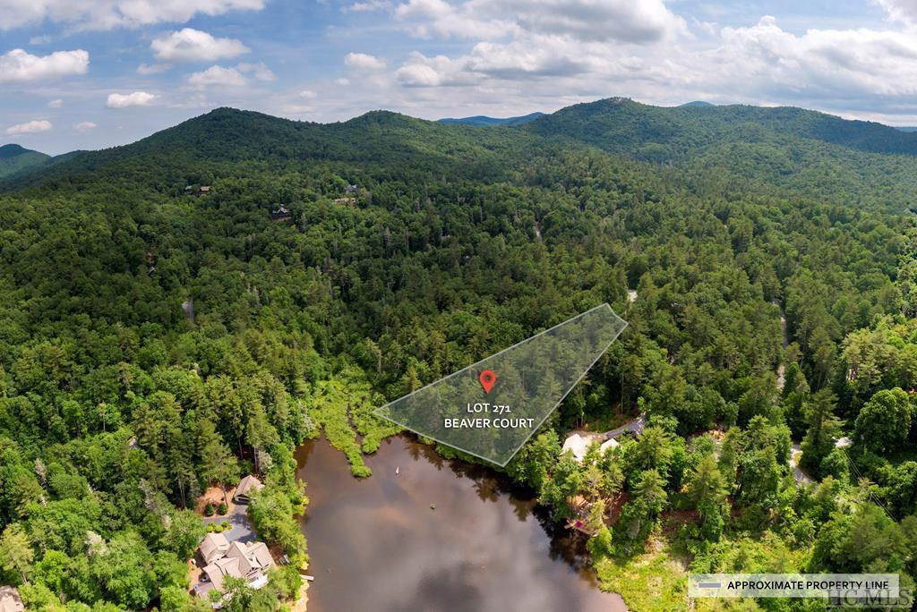 Photo of home for sale at Lot 271 Beaver Court, Sapphire NC